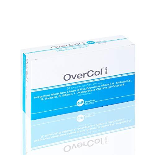 Overcol Plus Integratore Nutraceutico per riequilibrare le normali funzioni fisiologiche della flora batterica intestinale