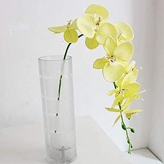 AOOGPLRUM 1x Borboleta Orquídea de Seda Artificial Falso Flores Festa De Casamento Casa Decoração (3)