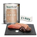 Venandi Animal - Pienso Premium para Gatos - Gallina de Pavo - Completamente Libre de Cereales - 6 x 800 g