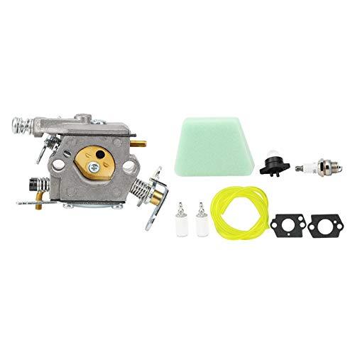 QUAN Kit de Repuesto de carburador Adecuado para Piezas de Motosierra Partner
