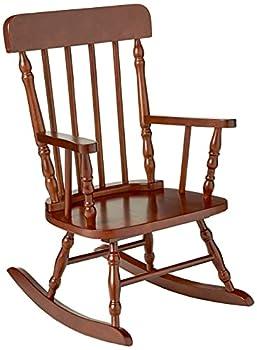 Gift Mark Children s Spindle Rocking Chair Cherry