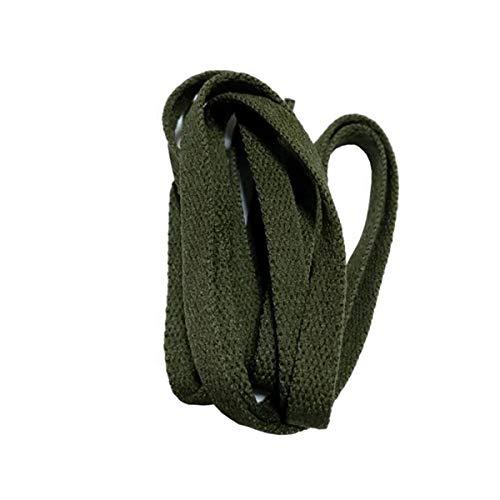 Cordón Plano Ancho de 8 mm Cordones de los Zapatos Cordones de los Zapatos para los Zapatos de Las Zapatillas de Deporte 24 Colores de 180 cm /71Inch