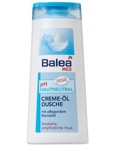 Balea Med pH-hautneutral Cremeöl-Dusche, 2er Pack (2 x 300 ml)
