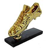 Eeng GranOferta, réplica de Trofeo de Zapato de Bota de Oro, Premio de Bota de Oro, Zapatos de fútbol para fanáticos, Recuerdos coleccionables