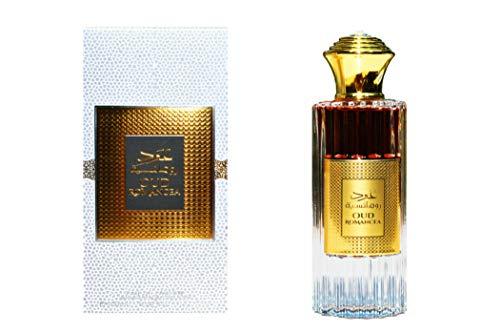 Perfume Oud Romancea ARD AL ZAAFARAN Eau de Parfum Spray perfumado de larga duración de 100 ml