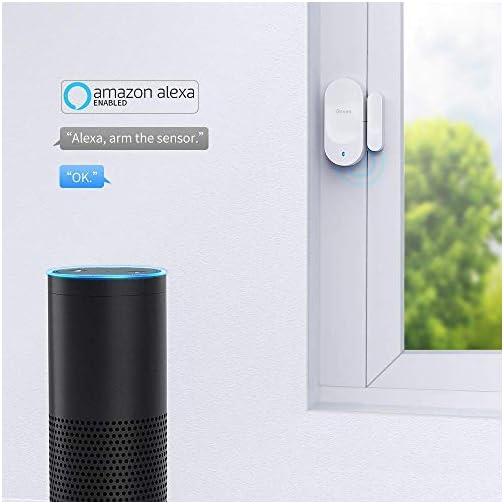 Govee WiFi Door Sensor, Smart Door Motion Sensor Works with Amazon Alexa APP Control, 2 Door Open Alarm and 1 Wi-Fi… 5