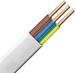 10m 50m m/ètre, 4 fils: 4 x 1.5 mm/² c/âble cylindrique C/âble multiconducteur pour lautomobile//remorque 5m 20m ou 50m choix: