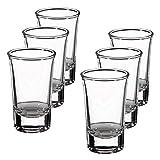 Lillian Rose Set of 6 Shot Glasses, 1.5oz, Clear