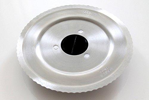 Wellenschliffmesser für Bosch / Siemens Allesschneider: CF4821, MAS6200, MAS62R1, MAS62W1, MS65000, MS65000N, MS65001, MS65001N, MS65500, MS65500N (658140 / 640062)