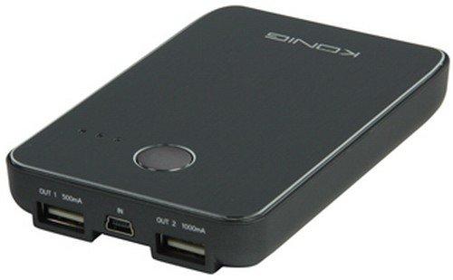 Koenig portabler USB Notakku 5000 mAh Power Bank l