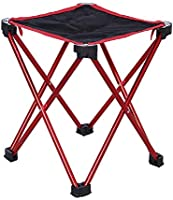 Others SQ-003-O Mounchain aluminum alloy fishing chair folding stool Mini portable ultralight outdoor sport Camping...
