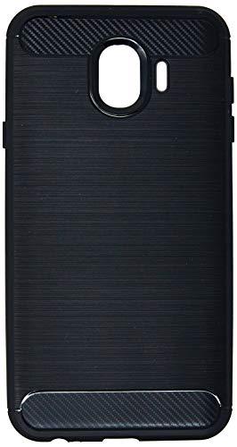 Capa Carbon Fiber para Galaxy J4, iWill, Preta