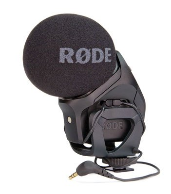 Rode SVMP Stereo VideoMic Pro Condenser Microphone