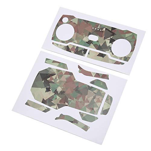 Etiqueta engomada del abejón de Rc del aspecto de moda Etiqueta engomada del abejón de Rc con estilo colorido para el cuerpo del abejón de Rc para el control remoto(MC02)