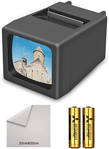 Rybozen 35 mm Slide Viewer Illuminated Slide Projector for for 2X2 & 35mm Photos & Film
