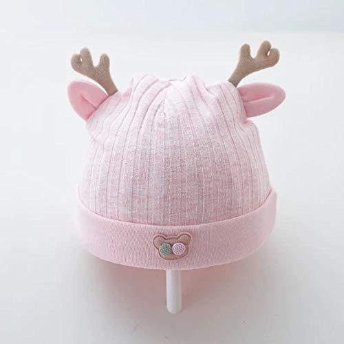 Aibccr Neugeborenes Baby Hut Baumwollreifen Hut Frühling und Herbst 0-3 Baby Herbst und Winter Neugeborenes Baby Prinzessin Hut