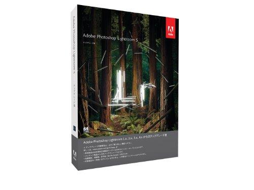 Adobe Photoshop Lightroom 5.0 日本語版 アップグレード版 Windows/Macintosh版