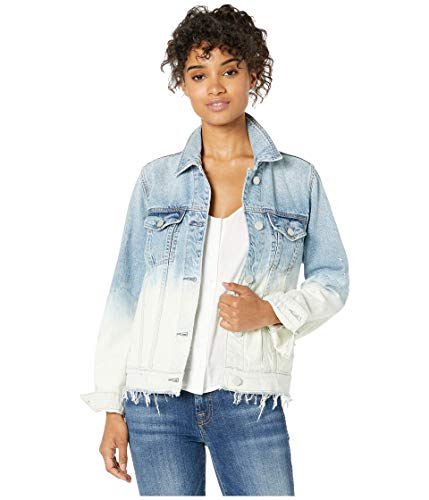 Blank NYC Two-Tone Denim Jacket in Low Rider Low Rider SM
