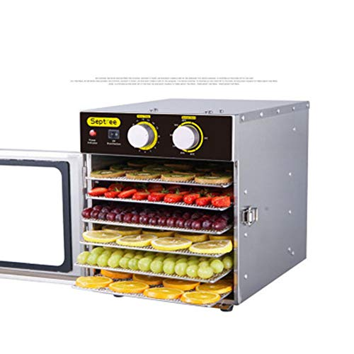 For Sale! GOOG 6-layer 220v stainless steel Dried fruit machine Household Food dryer fruit and veget...