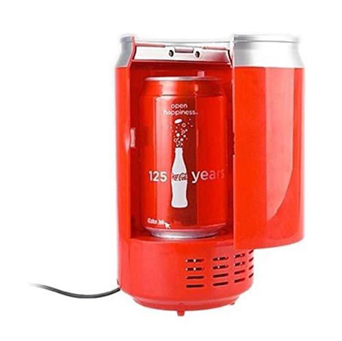 AYDQC Mini Caja de Nevera USB Caja de refrigeración en refrigeración y calefacción pequeñas refrigeradoras para Bebidas Drogas y cosméticos fengong
