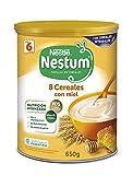 Nestlé Papillas Nestum Cereales para Bebé con Miel, 650g