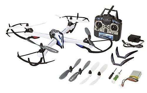 Revell Control RC Quadrocopter groß, ferngesteuert mit 2,4 GHz Fernsteuerung, äußerst kraftvoll, sportliches Flugverhalten, Gyro, Headless, Geschschwindigkeitsstufen, Flip-Funktion, FORMULA Q 23927