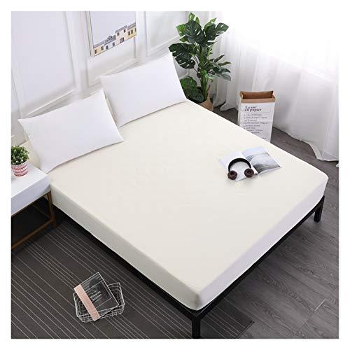 MOLUO Bettlaken, wasserdicht, zum Schleifen und für atmungsaktive Matratze, mit elastischem Band, um Milben zu...