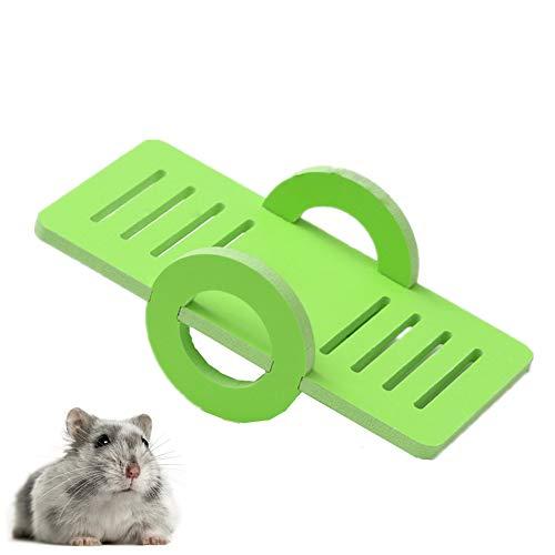 xiamenchangketongmaoyi Spielzeug Hamster Spielzeug für Hamster Hamster Klettern Spielzeug Kaninchen Spielzeug langeweile Breaker Hamster Hamster Haus Hamster käfig Green