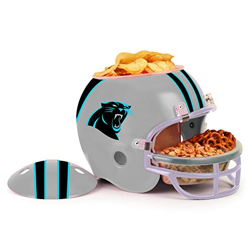 WinCraft Carolina Panthers Football NFL Snack Helmet