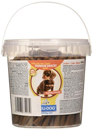 Deli Dog Snack Perro Palitos Blandos Sabor Cordero - 300 gr
