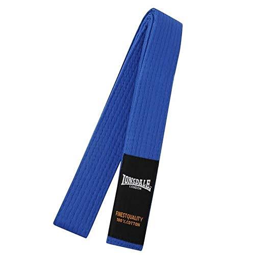 Lonsdale Hombre–Cinturón de Budo Lucha de deportes de lucha Cinturón Cinturón de karate Judo Cinturón azul Large