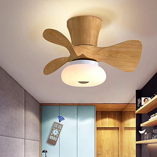 64W LED De La Lámpara Del Ventilador De Techo Tranquila Luz De Techo Con Mando A Distancia Para Lámpara Regulable Para El Dormitorio Que Viven Vivero Sala De Oficina Puede Bajo Ruido Sincronización