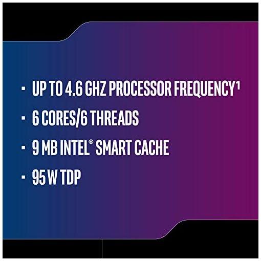 Intel bx80684i59600k - CPU intel Core i5-9600k 3.70ghz 9m lga1151 bx80684i59600k 984505, Gris 3