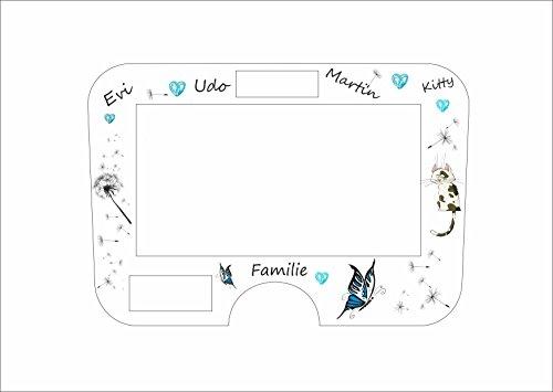 Displaybeschermfolie voor Monsieur Cuisine Connect familie turquoise kat