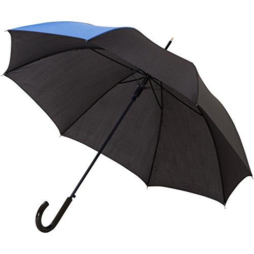 Bullet - Paraguas modelo Lucy de 58cm con apertura automática (Paquete de 2) (84 x 103 cm) (Azul/Negro)