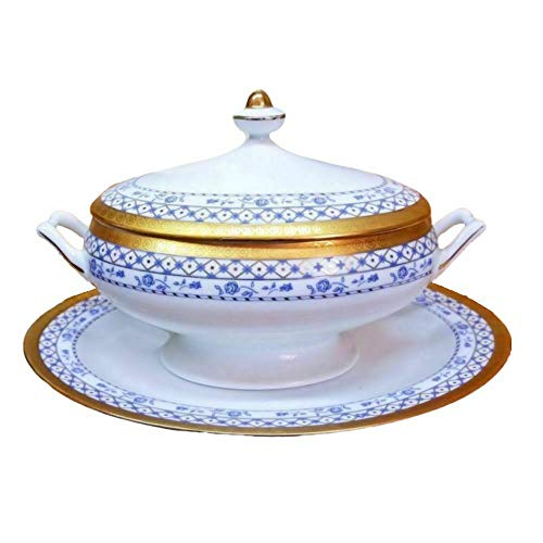 Limoges Soup Tureen - Soup Tureen - Sopera de porcelana, 33 x...