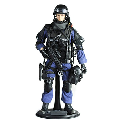 MagiDeal Soldato Attaccante Action Figure da 12 Pollici 1/6 Esercito Combattimento SWAT