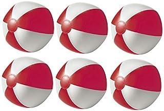 noTrash2003 Juego de 6 pelotas de agua hinchables para playa, playa, piscina