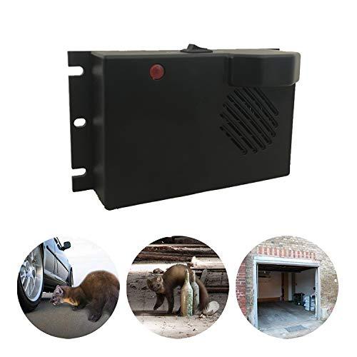 ZXX Répulsif ultrasonique de Rat/Souris, convertisseur de fréquence 4K-50KHz à Piles pour empêcher Le Parasite de Fouet de martre de...