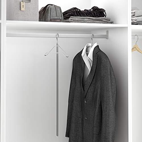 - Percha de mango largo para armarios altos