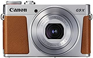 Canon PowerShot G9 X Mark II - Cámara compacta de 20.9 MP (Pantalla táctil de 3 vídeo Full HD CMOS Intelligent IS Digic 7 Bluetooth) Plata