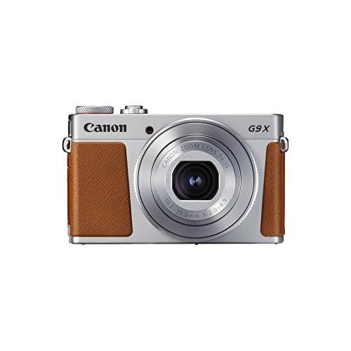 "Canon PowerShot G9 X Mark II Fotocamera, 20.1 Megapixel, 1"" CMOS 5472 x 3648 Pixel, Marrone/Argento"