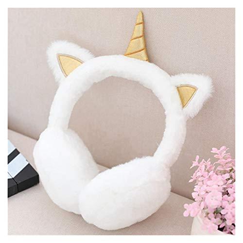 Juguetes de peluche Encantador unicornio felpestir auriculares calientes para niñas Orejas de pieles de invierno Mujeres Ear Ear Cubiertas Calentadores Mujeres Diezera Juguetes Regalos de cumpleaños