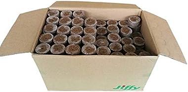 Pastilles de tourbe - pots de Source - Jiffy-7 -100 pièces