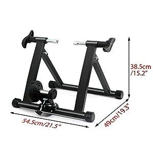 Kabalo Bicicleta de Interior Plegable Ciclismo Turbo Trainer Bicicleta magnética Ejercicio Fitness Machine
