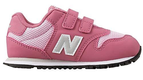 new balance niña rosa y gris