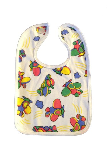BabywearUK 3Pack de plástico de baberos–fabricado en Reino Unido