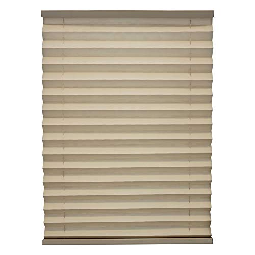 RecPro RV Blinds Pleated Shades | Cappuccino | RV Window Shades | Camper | Trailer (26' W x 24' L)