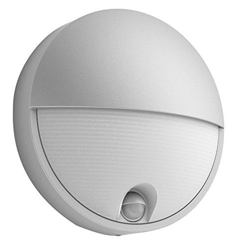 Philips Capricorn Lampada LED da Parete, Giardino ed Esterni con Sensore Di Movimento, 6W, Grigio