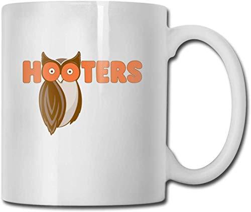 Save The Hooters - Taza de café (11 taza de café de cerámica, ideal como regalo para Navidad, San Valentín y cumpleaños, día del padre y día de la madre)